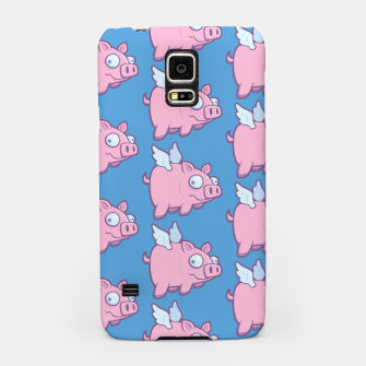 Miniatur When Pigs Fly Samsung Case, Live Heroes