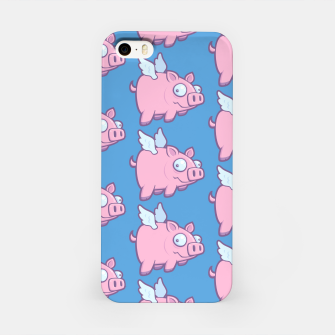 Miniatur When Pigs Fly iPhone Case, Live Heroes