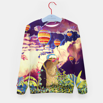 Miniatur Air Balloons Kid's sweater, Live Heroes