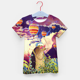 Thumbnail image of Air Balloons Kid's t-shirt, Live Heroes