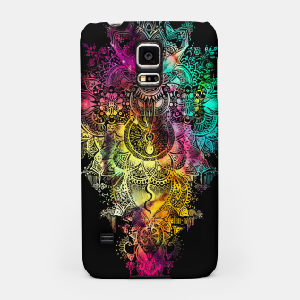 "Thumbnail image of Mandala - ""Anosognosia"" - flowers and galaxy Samsung Case, Live Heroes"