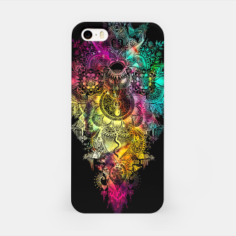 "Thumbnail image of Mandala - ""Anosognosia"" - flowers and galaxy iPhone Case, Live Heroes"