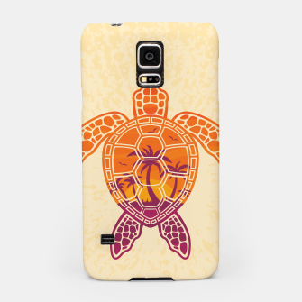 Thumbnail image of Tropical Sunset Sea Turtle Design Samsung Case, Live Heroes