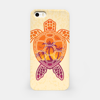 Thumbnail image of Tropical Sunset Sea Turtle Design iPhone Case, Live Heroes