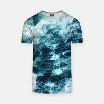 Wild Sea LowPoly Style T-Shirt miniature