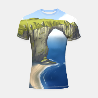 Miniaturka Rock and Water Shortsleeve rashguard, Live Heroes