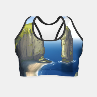 Miniaturka Rock and Water Crop Top, Live Heroes