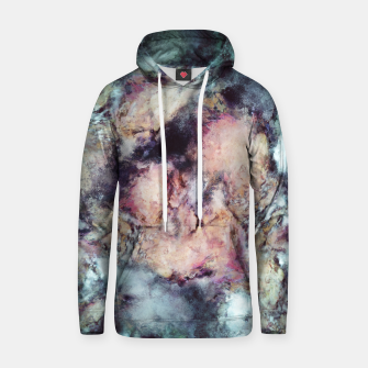 Thumbnail image of Solitary bloom Cotton hoodie, Live Heroes
