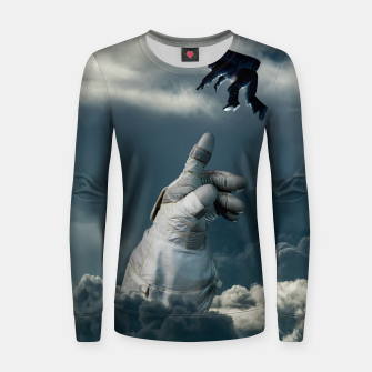 Imagen en miniatura de Let it go III Woman cotton sweater, Live Heroes