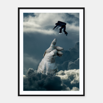 Thumbnail image of Let it go III Framed poster, Live Heroes