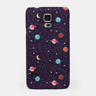 Thumbnail image of Universe with planets and stars seamless pattern, cosmos starry night sky 002 Samsung Case, Live Heroes