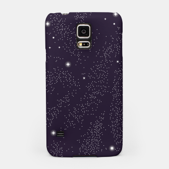 Miniatur Universe with planets and stars seamless pattern, cosmos starry night sky 003 Samsung Case, Live Heroes