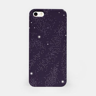 Miniatur Universe with planets and stars seamless pattern, cosmos starry night sky 003 iPhone Case, Live Heroes