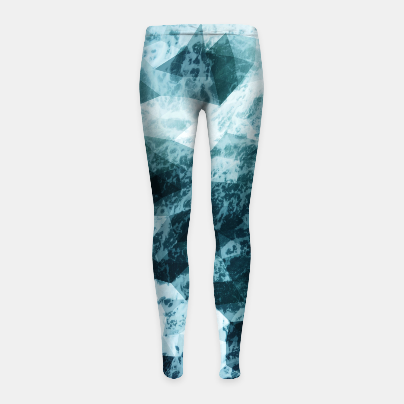 Image de Wild Sea LowPoly Style Kinder-Leggins - Live Heroes