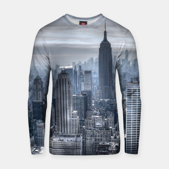 Thumbnail image of new york skyline c Cotton sweater, Live Heroes