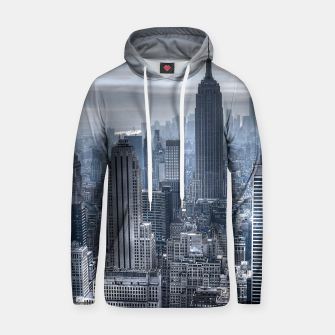 Thumbnail image of new york skyline c Cotton hoodie, Live Heroes