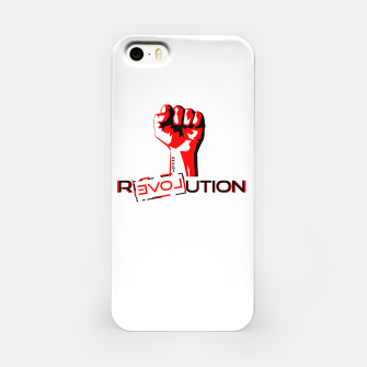 Miniatur Update Signs Revolution White Obudowa iPhone, Live Heroes