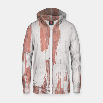 Thumbnail image of SHELTER / 4 / blooming dahlia, almost mauve Cotton zip up hoodie, Live Heroes