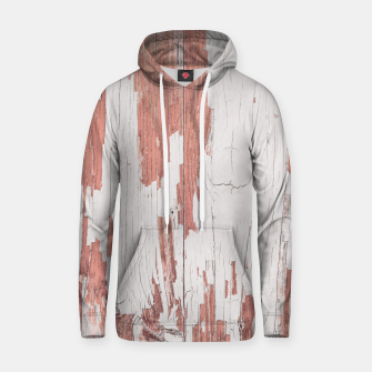 Thumbnail image of SHELTER / 4 / blooming dahlia, almost mauve Cotton hoodie, Live Heroes