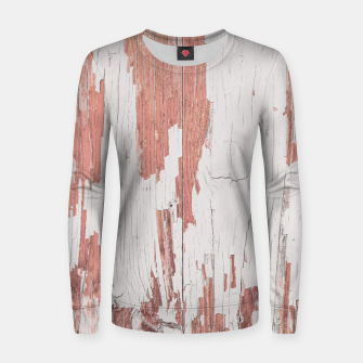 Thumbnail image of SHELTER / 4 / blooming dahlia, almost mauve Woman cotton sweater, Live Heroes