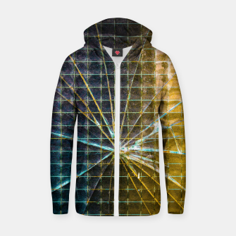 Thumbnail image of CRACKS Cotton zip up hoodie, Live Heroes