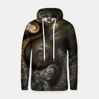 Thumbnail image of Loop Bell Vortex Cotton hoodie, Live Heroes