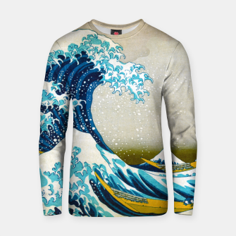 Thumbnail image of Great Wave off Kanagawa Cotton sweater, Live Heroes