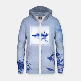 Thumbnail image of 442: Porcelain Lolita Cotton zip up hoodie, Live Heroes