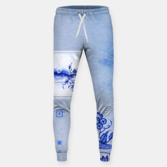 Thumbnail image of 442: Porcelain Lolita Cotton sweatpants, Live Heroes