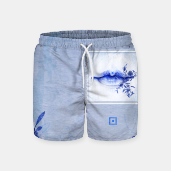 Thumbnail image of 442: Porcelain Lolita Swim Shorts, Live Heroes
