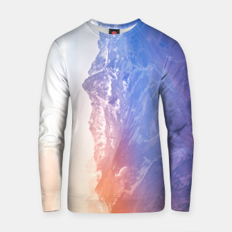Thumbnail image of Color clouds on the Mountains Cotton sweater, Live Heroes