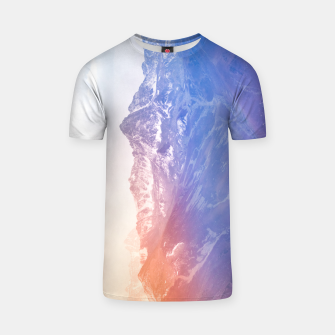 Thumbnail image of Color clouds on the Mountains T-shirt, Live Heroes