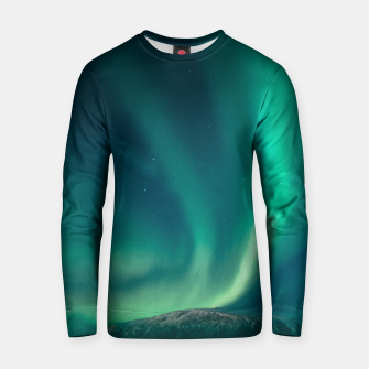 Thumbnail image of Aurora Borealis Cotton sweater, Live Heroes