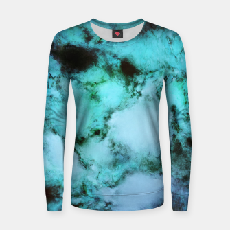 Thumbnail image of Frozen waters Woman cotton sweater, Live Heroes