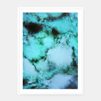 Thumbnail image of Frozen waters Framed poster, Live Heroes