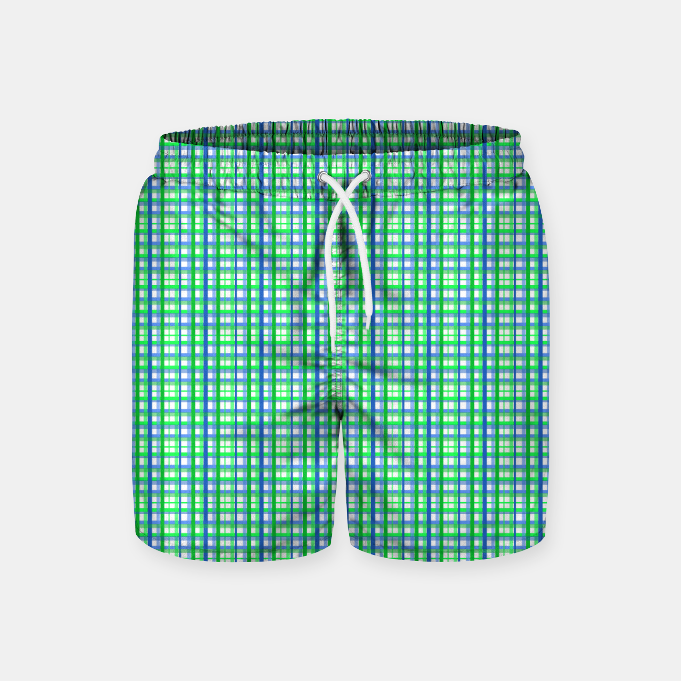 Image of MMeU SIgma Tartan (men's shorts) - Live Heroes