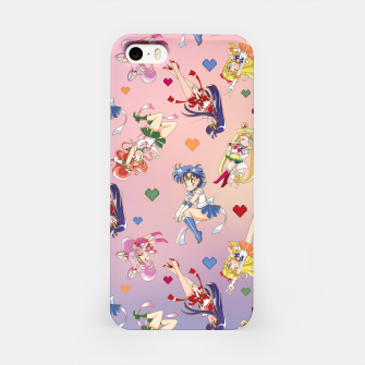 Thumbnail image of Chibi Inner Senshi iPhone Case, Live Heroes