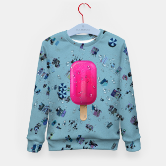 Pink Ice Kid's sweater obraz miniatury