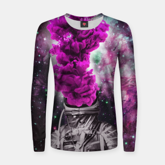 Imagen en miniatura de Purple Astro Woman cotton sweater, Live Heroes