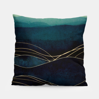 Thumbnail image of Indigo Waters Pillow, Live Heroes