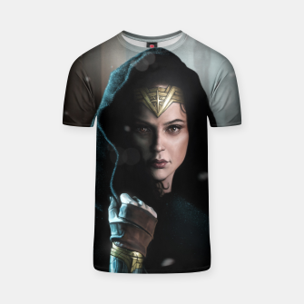 Thumbnail image of Warrior Princess T-shirt, Live Heroes