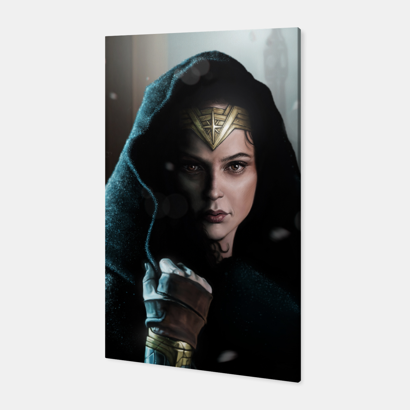 Image of Warrior Princess Canvas - Live Heroes