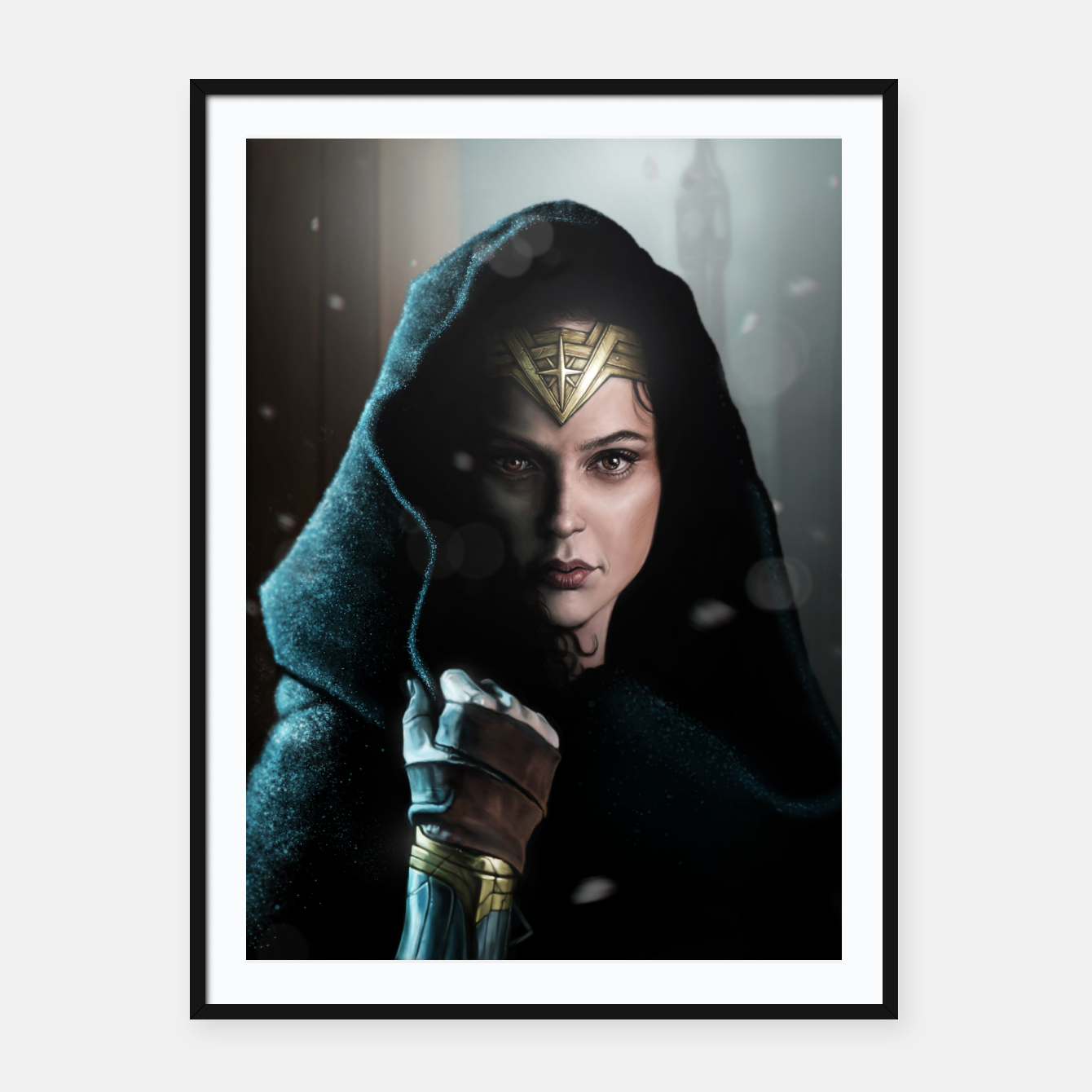 Image of Warrior Princess Framed poster - Live Heroes
