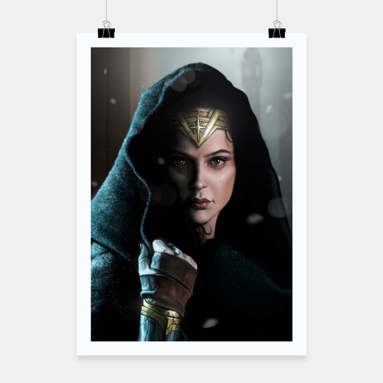 Image of Warrior Princess Poster - Live Heroes