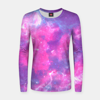 Thumbnail image of Pastel Goth Galaxy Aesthetic Woman cotton sweater, Live Heroes