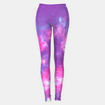 Thumbnail image of Pastel Goth Galaxy Aesthetic Leggings, Live Heroes