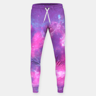 Miniatur Pastel Goth Galaxy Aesthetic Cotton sweatpants, Live Heroes