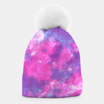 Thumbnail image of Pastel Goth Galaxy Aesthetic Beanie, Live Heroes