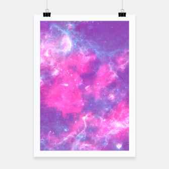 Thumbnail image of Pastel Goth Galaxy Aesthetic Poster, Live Heroes