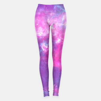Thumbnail image of Pastel Goth Galaxy Aesthetic Yoga Pants, Live Heroes